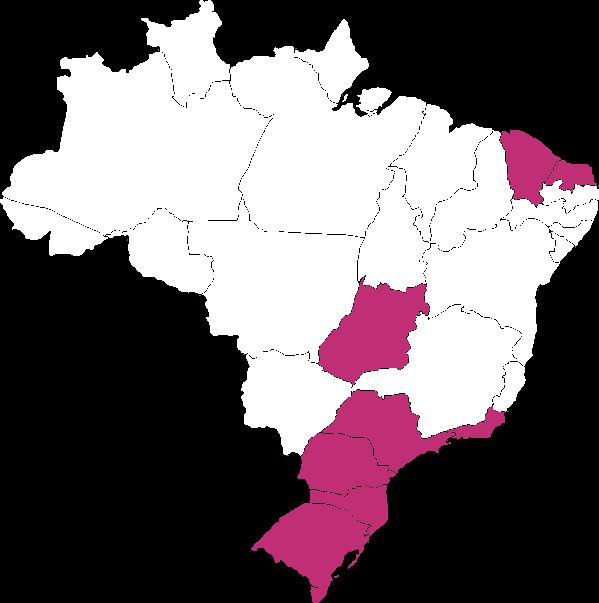 Mapa del Brasil